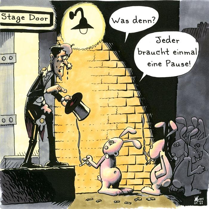 Cartoon 46 fuchs wolf großmutter restaurant nachtisch