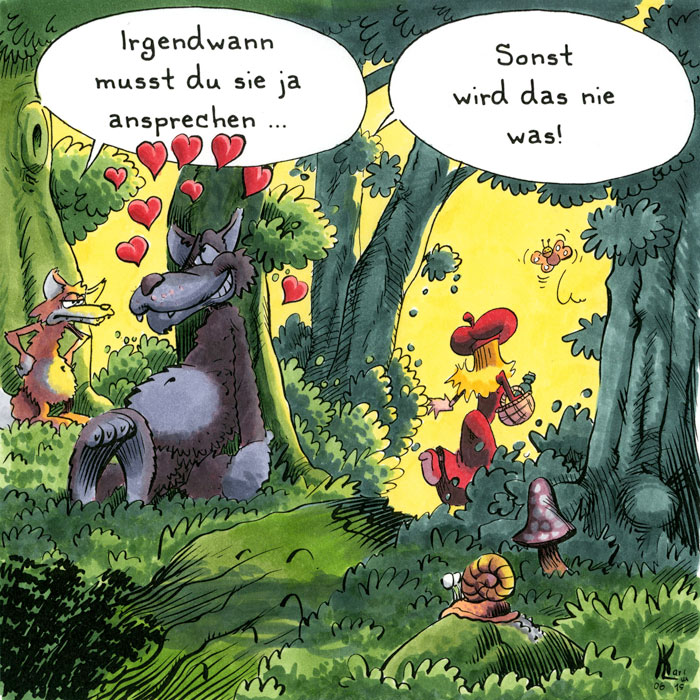 Karl lux cartoonist