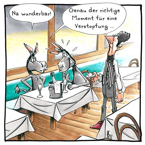 Karl Lux Cartoons Comics Illustrationen